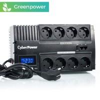 CyberPower BR700ELCD 700VA/420W, 8 enchufes + LCD + CARGA USB + GREENPOWER