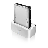 "IB-111STUS2-Wh Docking Station 2.5"" y 3.5"" - USB2.0, eSATA"