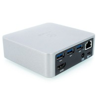 Icy-Box IB-DK2301-C, Adaptador USB