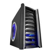 Caja ATX Raidmax Katana Negra con Vent 225mm