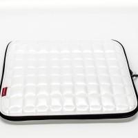 Bolso Tokio Sleeve Blanco perla 17 pulgadas de cuero sintético (Pack 5)