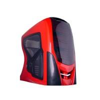 Caja ATX Raidmax RX9 Red con mando a distancia y altavoces