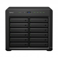 DS3617xs NAS 12 bahías - Intel Xeon D-1527 64-bit Quad Core 2.2 (hasta 2.7GHz) 16GB DDR4 (ECC)