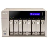 TVS-863-4G NAS para 8 discos - AMD 2.4GHz quad-core, 4GB DDR3L