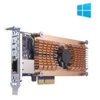 QM2-2P10G1T Tarjeta de expansión M.2 NVME y 10Gbe