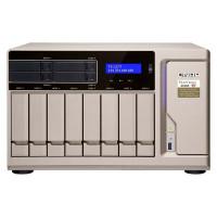 TS-1277-1600 NAS 12 Bahías 8xHDD 4xSSD - AMD Ryzen 5 8GB de RAM