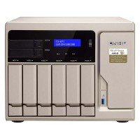 TS-877-1600-8G NAS 8 Bahías (SSD x2 + M.2 SATA x2) - AMD Ryzen 5 1600 6 núcleos 3.2GHz (hasta 3.6GHz), 8GB DDR4 (max 64GB)