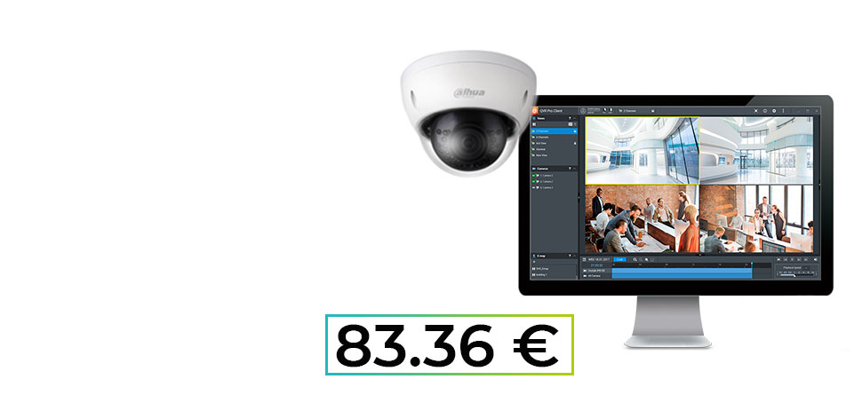 Nueva cámara de vigilancia Dahua