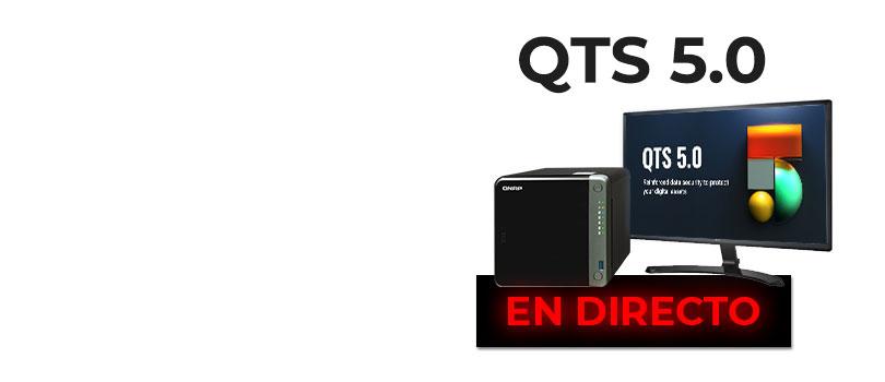 Presentación de QTS 5.0