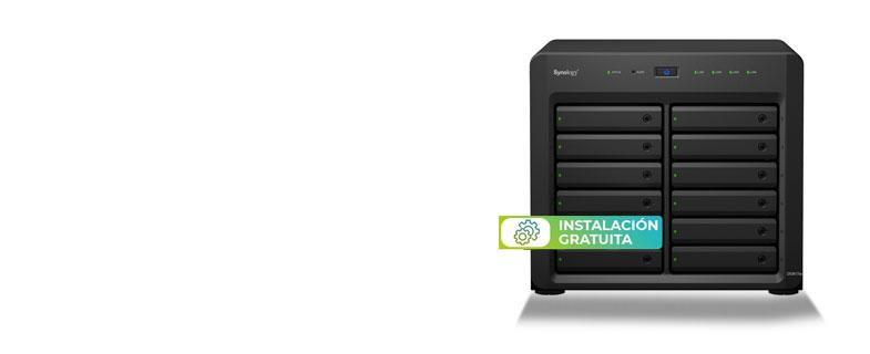 ¡Ahora tu servidor NAS DS3617xs con instalación gratuita!
