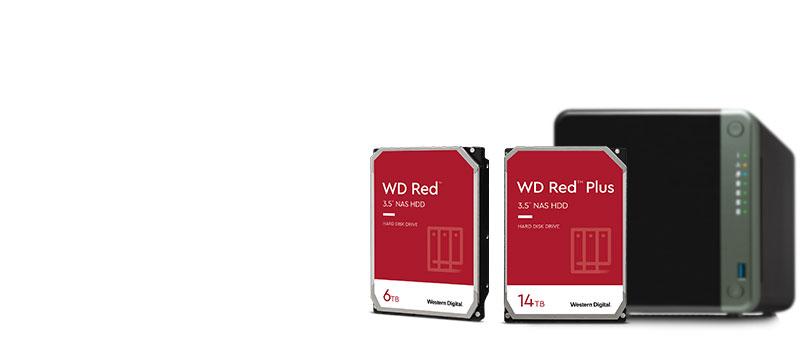 Western digital Red y Red Plus
