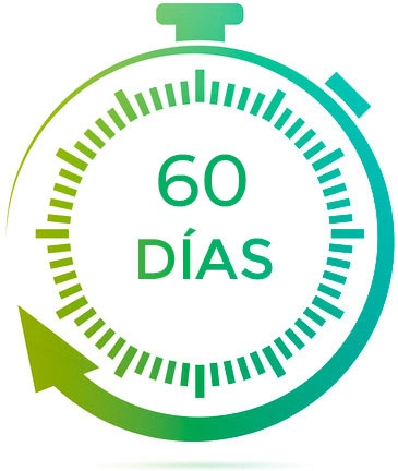 60 días de garantía Qloudea